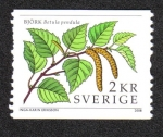 Stamps Sweden -  Plantas
