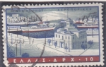 Stamps Greece -  puerto griego