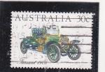 Stamps Australia -  coche de epoca- Farrant 1906