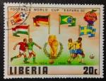 Stamps Liberia -  Mundial España 82