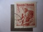 Stamps : Europe : Austria :  Ofterreich-República de Austria.Burgenland.