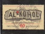 Sellos de Europa - Alemania -  peligro del alcohol al volante