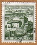 Stamps Austria -  SCHATTENGURG/FELDKIRCH