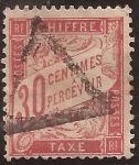 Sellos de Europa - Francia -  Tasas  1894  30 céntimos