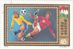 Sellos de Europa - Hungría -  futbol