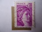 Stamps France -  Sabina de Gardon. Scott/Fr:1567.
