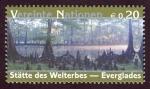 Stamps of the world : ONU :  ESTADOS UNIDOS - Parque nacional Everglades
