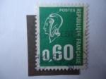 Stamps France -  Marianne de Bequet. Scott/Fr:1294