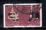 Sellos del Mundo : America : México : 50 años de la reapertura del Heroico Colegio Militar, 1920