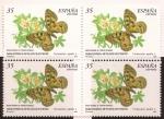 Sellos de Europa - España -  Fauna Española en Peligro de Extinción. Parnassius Apollo  2000  35 ptas