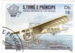 Sellos de Africa - Santo Tomé y Principe -  2º centenario del 1er vuelo tripulado