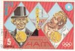 Sellos de America - Haití -  juegos olímpicos Munich-72