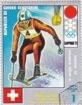 Stamps : Africa : Equatorial_Guinea :  juegos olímpicos Sapporo -72