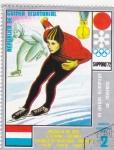 Stamps Equatorial Guinea -  juegos olímpicos Sapporo  -72