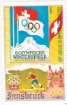 Sellos del Mundo : Africa : Guinea_Ecuatorial :  juegos olimpicos de invierno Innsbruck