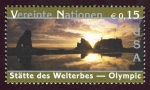 Stamps of the world : ONU :  ESTADOS UNIDOS - Parque nacional Olympic