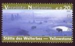 Sellos del Mundo : America : ONU : ESTADOS UNIDOS: Parque Nacional de Yellowstone