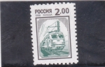 Sellos de Europa - Rusia -  locomotora electrica