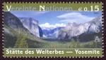 Sellos del Mundo : America : ONU : ESTADOS UNIDOS - Parque nacional Yosemite