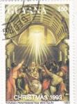 Sellos del Mundo : America : Guyana :  Pentecostes. navidad-93