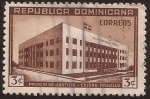 Stamps Dominican Republic -  Palacio de Justicia - Ciudad Trujillo  1946 3 centavos