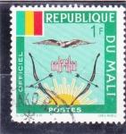 Sellos de Africa - Mali -  arcos y flechas