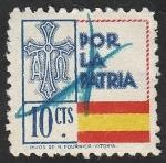 Stamps : Europe : Spain :  Por la Patria