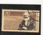 Sellos de Europa - Alemania -  Karl-Marx-filósofo