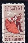 Sellos de Africa - Sudáfrica -  baile de salon