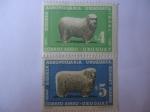 Stamps Uruguay -  Agropecuaria.