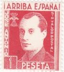 Stamps : Europe : Spain :  José Antonio Primo de Ribera (23) sin valor postal