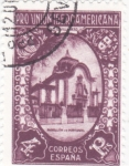 Stamps : Europe : Spain :  Pro-unión iberoamericana-pabellon de Portugal(23)