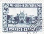 Stamps : Europe : Spain :  Pro-unión iberoamericana-pabellon de Mexico(23)