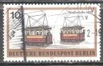 Sellos del Mundo : Europa : Alemania : Berlin transporte ferroviario. tranvía eléctrico de 1890.