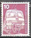 Sellos del Mundo : Europa : Alemania : Industria y Tecnología(Tren de cercanías).