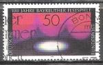 Sellos de Europa - Alemania -  100 años del Festival de Bayreuth.