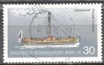 Sellos de Europa - Alemania -  Buque de vapor