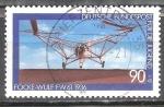 Sellos de Europa - Alemania -  Para la juventud, las aeronaves- helicóptero Focke Achgelis Fa 61, 1936.