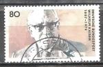 Sellos de Europa - Alemania -  Centenario del nacimiento de Wilhelm Kaisen (presidente del Senado y Alcalde de Bremen).