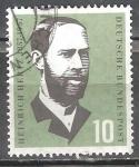 Sellos de Europa - Alemania -  Nacimiento de Cent. Heinrich Hertz (físico).