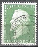 Sellos de Europa - Alemania -  Schulze-Delitzsch (1808-1883), jurista y político alemán.