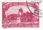 Stamps Spain -  Pro-unión iberoamericana-pabellon de Chile(23)