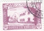 Stamps : Europe : Spain :  Pro-unión iberoamericana-pabellon de Brasil(23)