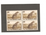 Stamps Africa - Central African Republic -  cote francaise des somalis