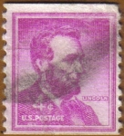 Stamps America - United States -  LINCOLN