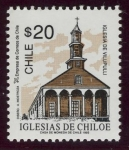 Stamps Europe - Chile -  CHILE:  Iglesias de Chiloé