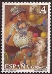Sellos de Europa - España -  El Circo, de Manolo Élices. Madame Lis  2005 0,28€