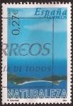 Sellos de Europa - España -  Naturaleza. Vista aérea de las Islas Cies  2004 0,27€
