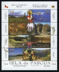 Stamps of the world : Chile :  CHILE: Parque nacional de Rapa Nui