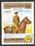 Sellos de Africa - Guinea Ecuatorial -  Exposición mundial de Filatelia